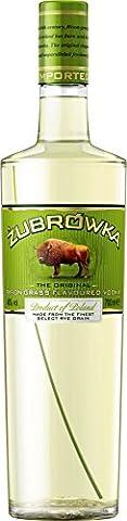 Zubrowka Bison Grass Vodka 70cl - (Packung mit