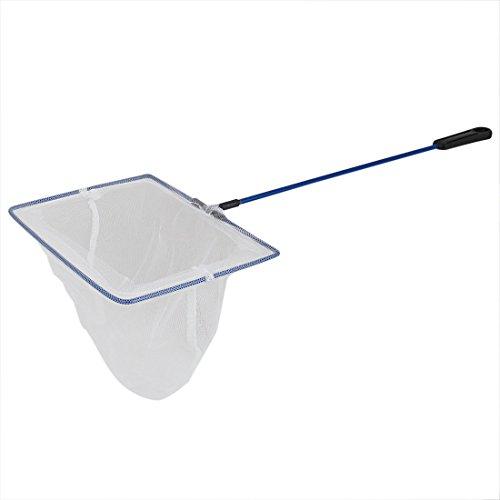 sourcingmap® 44 cm Länge Rechteck Rahmen Aquarium meshy Fische Landung Netz Angeln Mesh de -