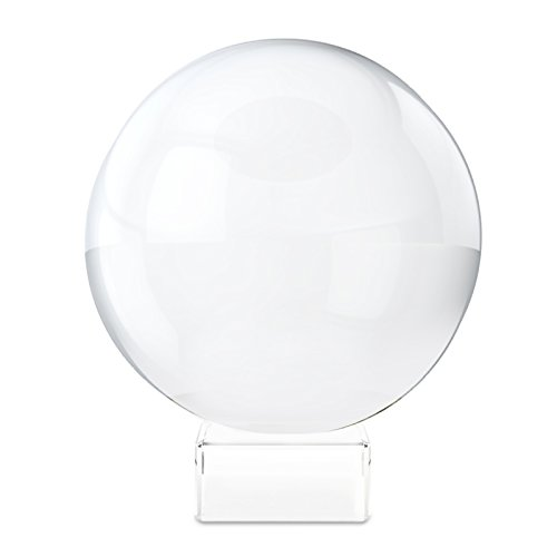31VBwsL4uJL BEST BUY UK #1Belle Vous 80mm K9 Crystal Ball with Stand  Perfect For Meditation, Healing, Photography & More! price Reviews uk