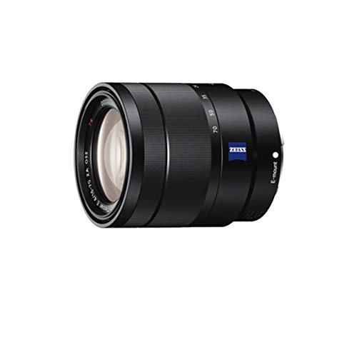 Sony SEL1670Z Obiettivo Carl Zeiss con zoom da 16-70mm F4, APS-C, stabilizzatore ottico, Innesto E, Nero