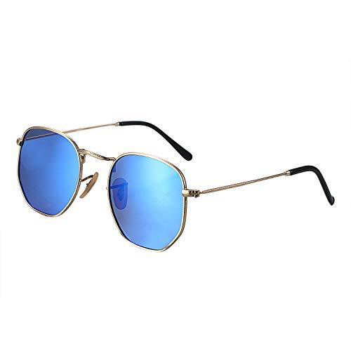 Aroncent Herren Outdoor-Sonnenbrille, polarisiert, UV-Schutz 400 leicht, Farbe wählbar bl