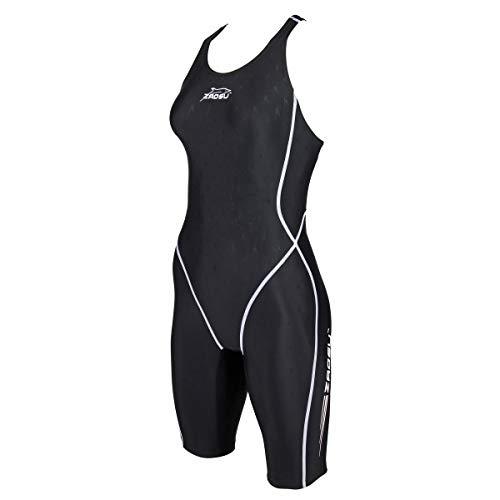ZAOSU Damen & Mädchen Wettkampf Schwimmanzug Z-Zone | Sport Badenazug mit Bein, Größe:164
