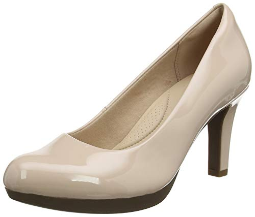Clarks Adriel Viola, Zapatos de Tacón para Mujer, Rosa (Dusty Pink-), 35.5 EU