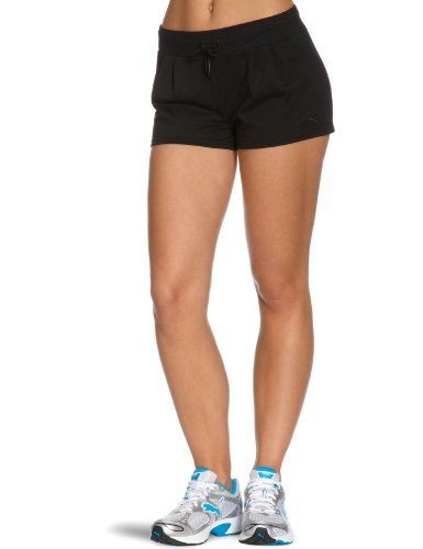 Puma, Donna Sweat Pantaloni corti Nero (black)