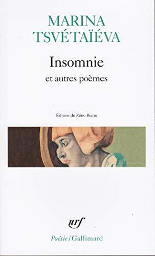Insomnie et autres poèmes par Marina Tsvétaïéva, Zéno Bianu