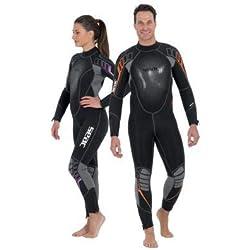 SEAC SUB - 0010218330055A/396 : SEAC SUB - 0010218330055A/396 : Combinaison de plongée femme néoprène 7MM KOMODA TAILLE M