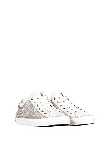 Crime , Chaussures de ville à lacets pour femme blanc Bianco 38 EU Bianco