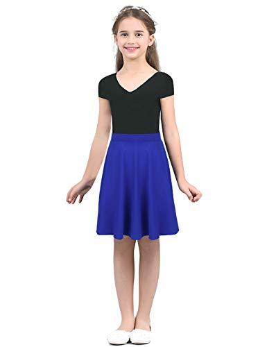 Iixpin Falda Escocesa Niñas Skirt Patinadora Baile