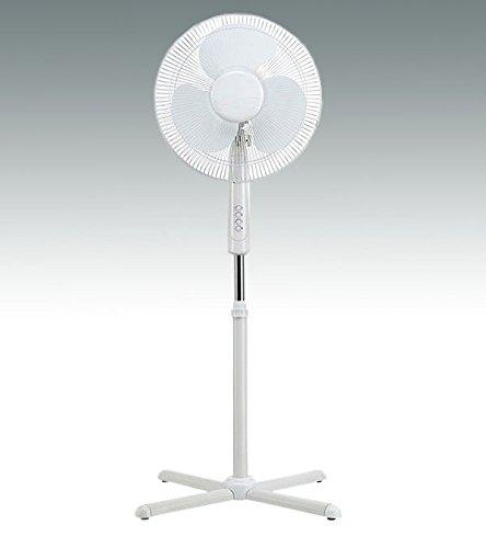 Schwenk Ventilator Standventilator 45 Watt 40 cm Durchmesser 3 Geschwindigkeiten 128 cm hoch