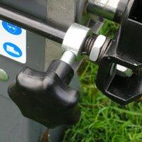 STAHLMANN® Holzspalter 7 Tonnen / 520mm liegend (inkl. Spaltkreuz und Tisch!) mit stufenlos verstellbaren Spaltweg bis max. 520 mm! TÜV/CE zertifiziert! - 6