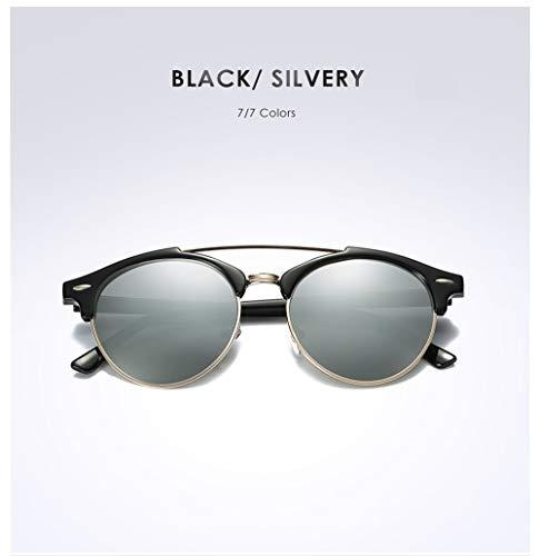 Wang-RX Mode-Klassiker polarisierte Sonnenbrille-Männer/Frauen, die Spiegel-Sonnenbrille für weibliches Uv400 fahren