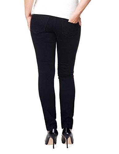 Noppies Damen Umstandsjeans Jeans Otb Slim Leah Schwarz (Black C270)