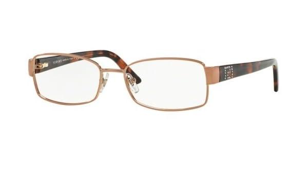 Versace Montures de lunettes 1177BM Pour Femme Copper, 52mm  Amazon.fr   Vêtements et accessoires 8d8c47b7c24e