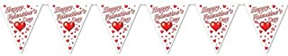 Beistle 70530 Happy Valentine's Day Pennant Banner, 10-Inch by 12-Feet, 1 Per Package (B000R4OKKK) | Amazon price tracker / tracking, Amazon price history charts, Amazon price watches, Amazon price drop alerts