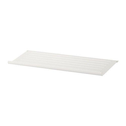 Ikea SystemsEleven Aufhängevorrichtung für-Schuh Regal, weiß-100x 35cm (Ikea Schuh Schrank)