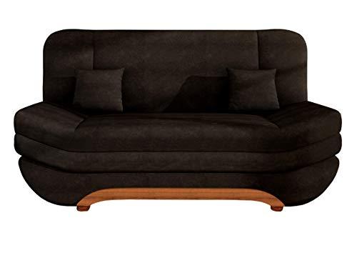 Mirjan24  Sofa Weronika mit Bettkasten und Schlaffunktion, Schlafsofa, Große Farb- und Materialauswahl, Couch vom Hersteller, Wohnlandschaft (Casablanca 2308)