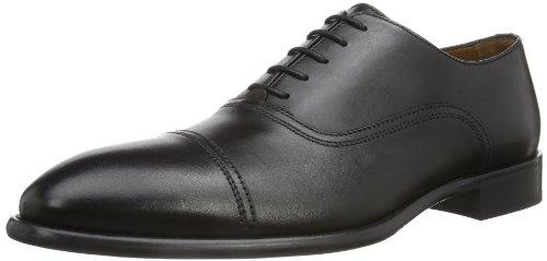 Lottusse L6723, Zapatos de Cordones Brogue para Hombre, Negro (Jocker Pelar Negro), 46 EU