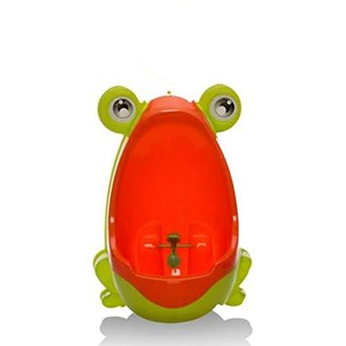 Da.Wa–Urinoir Enfant, Urinoir pour garçon en Forme de Grenouille pour bébé, Apprentissage pour uriner ,Urinoir pour bébé(Vert d'herbe) Da.Wa
