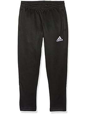 adidas Core 15 - Pantalón de Deporte para Hombre, otoño-Invierno 10, niño, Color - Negro/Blanco, tamaño 116 -...