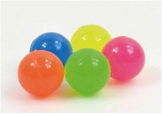 KSS 25 große Neon Flummis Flummi 27 mm Springball Hüpfball Tombola Kindergeburtstag