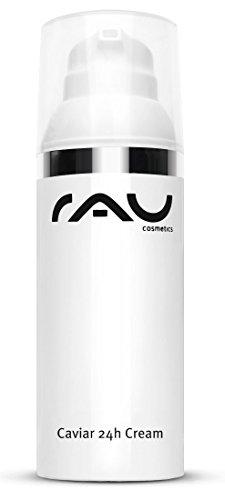 Anti-Aging Gesichtscreme für trockene Haut - RAU Cosmetics Caviar 24h Creme 50 ml - mit Aloe Vera,...