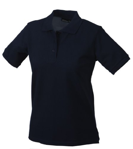 James + Nicholson Klassisches Ladies Poloshirt JN 071 Blau / Marineblau