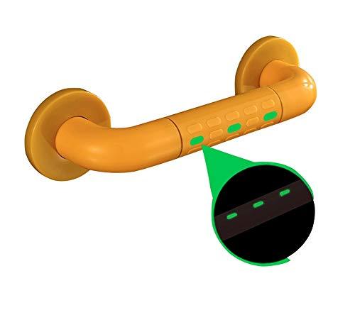 CPSHFS Anti-Rutsch-Armlehne mit Saugnapf-Dusche Bad-Handlauf Bad-WC aus Edelstahl Alter Rutschfester Sicherheitsgriff barrierefrei mit leuchtenden Armlehnen (Size : 78cm) -
