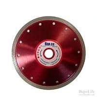 Ban-co Ultra Keskin 180 mm Kesici Disk Porselen Seramik Mermer Kesme Hassas İnce Kesim Disc