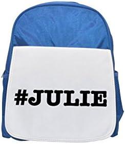 nicknames JULIE JULIE JULIE nickname Hashtag printed kid's Bleu  backpack, Cute backpacks, cute small backpacks, cute Noir  backpack, cool Noir  backpack, fashion backpacks, large fashion backpacks, Noir  fashion | Produits De Qualité  8a37b2