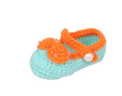 JTC Strickschuh One Size Baby Mit Süßen Muster Flaumweich Colour #21 hUmtG