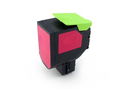 Preisvergleich Produktbild Green2Print Toner magenta 2000 Seiten ersetzt Lexmark 80C0S30 800S3 80C2SM0 802SM 80C2SME 802SME Toner Kartusche passend für Lexmark CX310N CX310DN CX410DE CX410DTE CX410E CX510DE CX510DHE CX510DTHE
