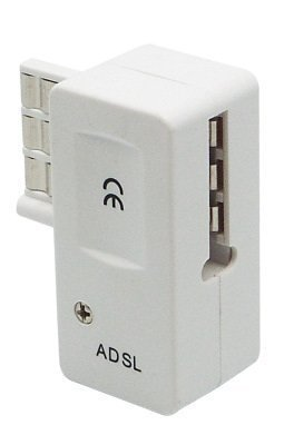 cablingr-adsl-filter-allowing-a-connection-from-an-adsl-modem-and-from-a-telephone-on-the-same-ptt-w