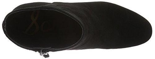 Sam Edelman Taye, Bottines femme Noir (BLACK KID SUEDE)