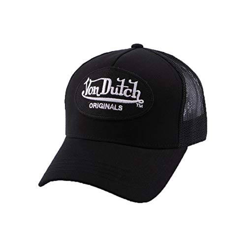 VON DUTCH - Casquette Trucker Von Dutch Lof noire - Noir Taille unique Homme / Femme
