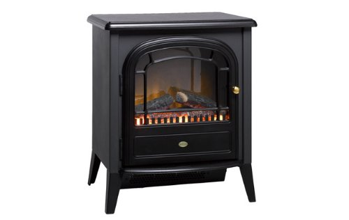 31VDAK qQeL - Dimplex Club Electric Stove, 2000 Watt, Black CLB20E