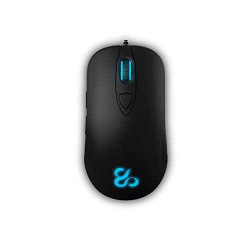 Newskill renshi - ratón ergonómico Gaming (Sensor Laser 8200dpi, RGB, Software de...