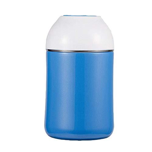 GWFVA Thermos in Acciaio inossidabile 750 ml, contenitori per alimenti isolati a tenuta stagna, conservazione del calore a Lungo termine 24 Ore su 24 (Colore: BLU)