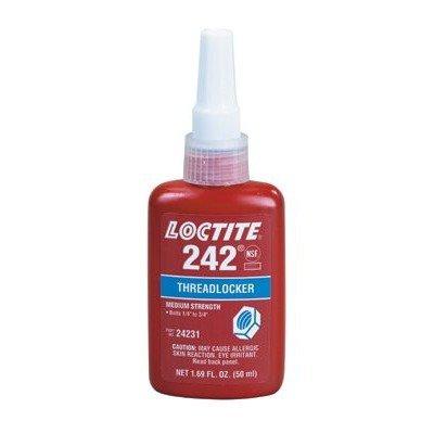 Loctite 242 Threadlocker - Blue Liquid 250 ml Bottle - Tensile Strength 110 psi [PRICE is per BOTTLE] by Loctite