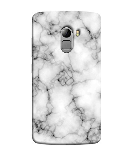 Printfidaa Light Marble Texture Natural Stone Print Designer Back Cover for Lenovo Vibe K4 Note, Lenovo K4 Note
