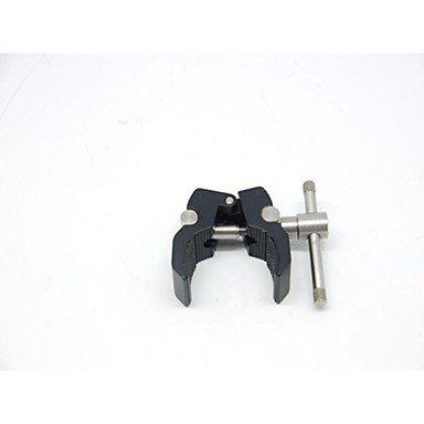 F & V Crab Claw style de poignée pivotante caméra de trépied Monopode Clamp noir/argent