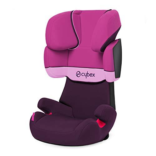 Cybex Silver Solution X, Autositz Gruppe 2/3 (15-36 kg), ohne Isofix, Kollektion 2018, Purple Rain