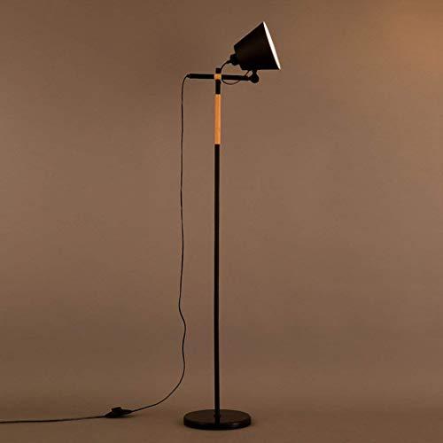 Home Stehlampe, Stehende Leseleuchte, Amerikanische Stehlampe Kreative Industrie Wind Schlafzimmer Schlafzimmer Persönlichkeit Dekoration Loft Eisen Stehlampe Augenschutz Vertikale Tischlampe, B-D -