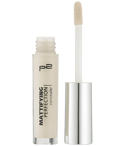 p2 cosmetics Mattifying Perfection Concealer 015, 3er Pack (3 x 3 ml)