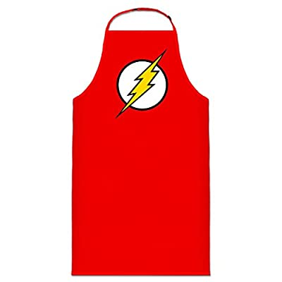 1c3321523fe Delantal de cocina Bazinga Flash Logo by Shirtcity