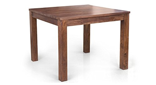 Urban Ladder Arabia Four Seater Solid Wood Dining Table (Teak Finish)