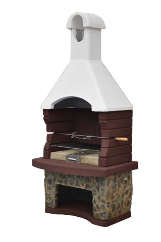 Mussalla Masonry BBQ - With Built in Rotisserie - SPECIAL LIMITED OFFER