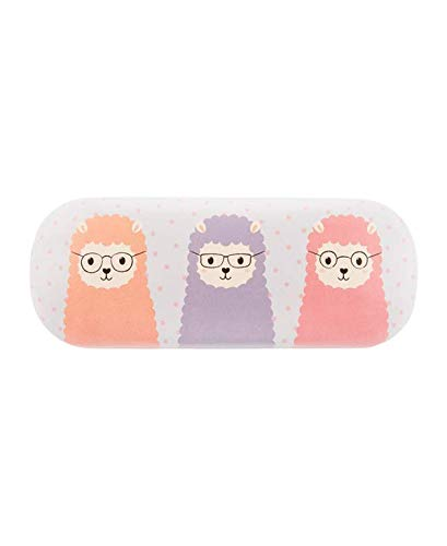 Little Llama Glasses Case Sunglasses Hard Case Pastel Colours Cute Girly
