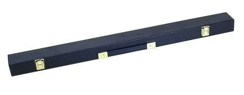 Queue Koffer für Pool-, Snooker- und Karambol Queues 1/1, Farbe schwarz