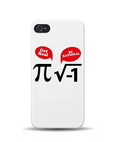 iPhone 5/5S mathématiques 'Get Real être rationnel' Blague 3D Coque téléphone portable