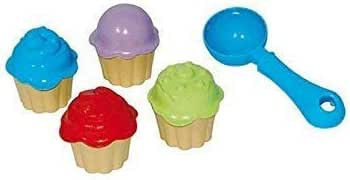 "9-teiliges Sandspielzeug-Set /""Cupcake/"" Kunststoff"